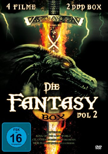 Fantasy-Film-Box - Vol. 2 *4 Filme auf 2 DVDs!*