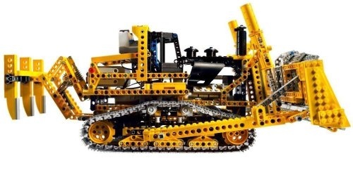 lego technic 8275 rc bulldozer mit motor neu review. Black Bedroom Furniture Sets. Home Design Ideas
