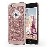 iPhone 6s ケース iPhone 6 ケース Imikoko iPhone 6sきらきら ケース ハードPC パンバー iPhone 6きらきら ケース iPhone 6s 薄型ケース bling-bling アイホン 6 6s カバー SHINEケース おしゃれ 4.7インチ (Rose Gold)