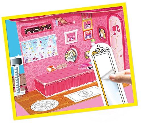 lisciani 45631 barbie costruisci e decora la mia casa verde