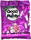 Good & Plenty Licorice Candy, 7-Ounce Packets (Pack of 12)