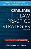 img - for Online Law Practice Strategies: How to turn clicks into clients book / textbook / text book