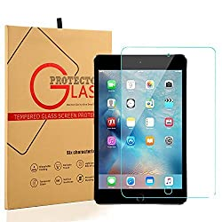 iPad Mini 4 Screen Protector, Peyou [Tempered Glass Screen Protector] [Ultra Thin Thickness] [Crystal Clear 9H Hardness] Premium Tempered Glass For iPad Mini 4 2015 Version