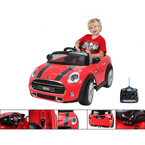 12v-electric-car-with-parental-remote-control-electric-red-mini-cooper-for-children