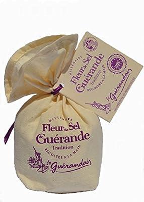 Fleur de Sel Leinensäckchen 125 g. von Le Guérandais, Guérande auf Gewürze Shop