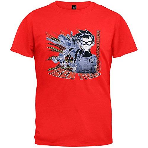 Teen Titans - Techno Robin Youth T-Shirt