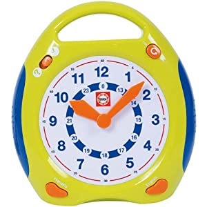 Educa Borrás - Reloj de aprendizaje (Educa Borras Sa A1101879) [Importado de Francia] en BebeHogar.com