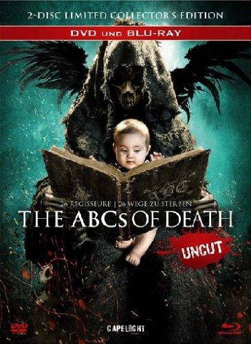 The ABCs of Death [Blu-ray + DVD] limitiertes uncut Mediabook [Limited Collector's Edition] [Limited Edition]