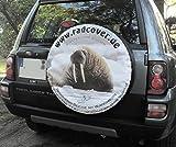 PREMIUM Reserveradabdeckung mit eigenem Bild und Text , Reserveradhülle in drei versch. Farben, Tasche, Überzieher, Schutz, aus hochwertigem Planenmaterial für Auto oder Jeep