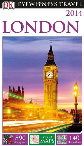 Dk Eyewitness Travel Guide: London front-323696