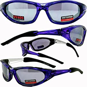 accent foam padded sunglasses motorcycle