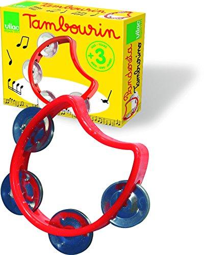 Vilac Baby Musical Toy, Tambourine - 1