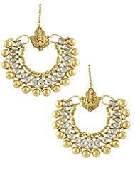 The Art Jewellery Heavy Ram Leela Dangle&Drop Earrings For Women