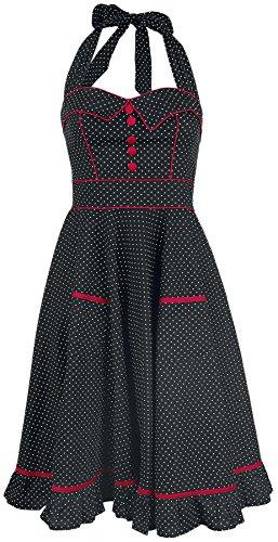 Hell Bunny Vanity Dress Abito nero/bianco M