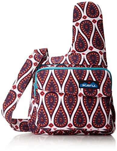 KAVU Women's Seattle Sling Bag, Paisley Passion,