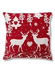 Reindeers in Love Cushion