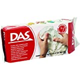 DAS Air Hardening Modeling Clay, 2.2 Pound Block, White (387500)