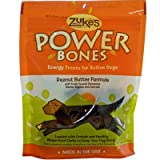 Zukes Powerbones Peanut Butter - 6 Oz, 12 Pack