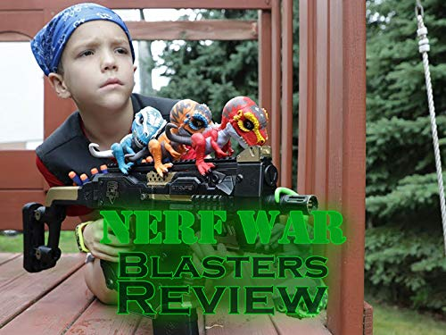 Clip: Nerf War Blasters Review on Amazon Prime Video UK