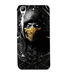 Scary Character 3D Hard Polycarbonate Designer Back Case Cover for HTC Desire 626 :: HTC Desire 626 Dual SIM :: HTC Desire 626S :: HTC Desire 626 USA :: HTC Desire 626G+ :: HTC Desire 626G Plus