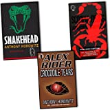 Anthony Horowitz Anthony Horowitz Alex Rider 3 Books Collection Pack Set RRP: £20.97(Snakehead, Crocodile Tears, Scorpia Rising)