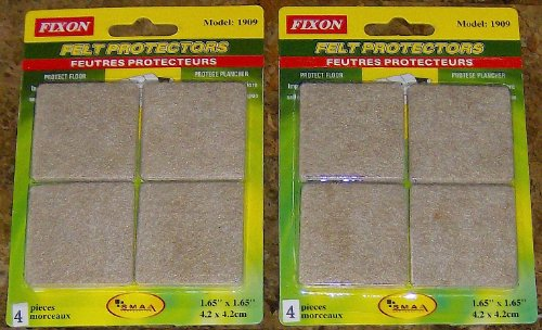 Self Stick Felt Pads for Furniture Protects Floor Felt Protector 1.65