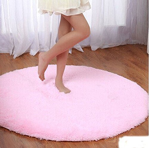 Princess Dream Round Shaggy Area Rug
