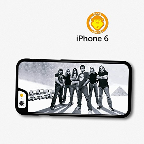 Iron Maiden Black And White Portrait Band Case For Iphone 6 A10997 front-600960