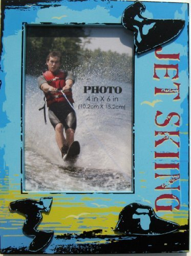shabby-chic-jet-skiing-photo-frame-w-sunset-blue-waters-sky-4-x-6-by-cracker-barrel