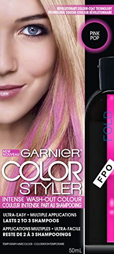 Garnier Hair Color Color Styler Intense Wash-Out Color, Pink Pop (Pop Color Hair compare prices)