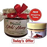 1 Litchi Honey !! 400 Gms With Cinnamon Powder Pack Worth Rs.69/-!! The Finest 100% Pure Raw Natural Honey Unprocessed...