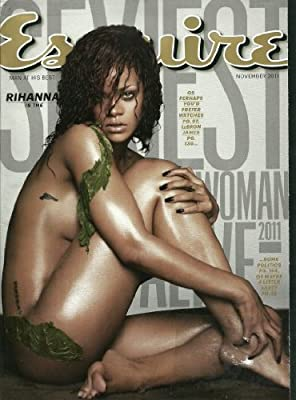 Esquire Magazine November 2011 Rihanna LeBron James
