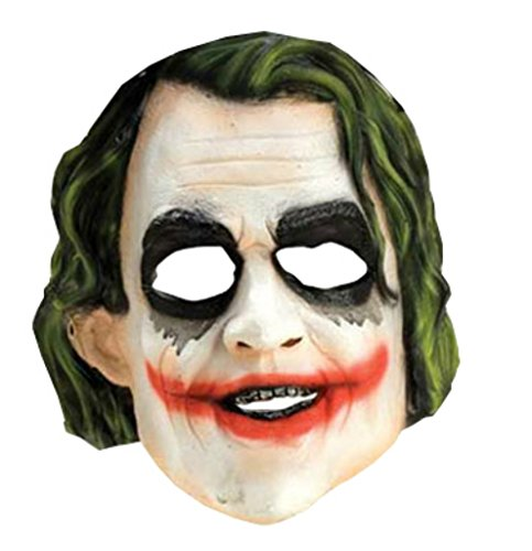 Joker Vinyl The Dark Knight Rises Supervillains Childrens Halloween Costume Mask