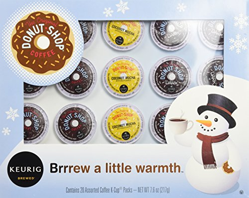 Keurig Donut Shop Holiday Assortment, 7.6 oz (Keurig Coffee Gift Basket compare prices)