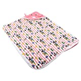Feel Good To Shop Mickey New-Born Warm Hooded Baby Blanket - Set Of 1 (FG2ST139)
