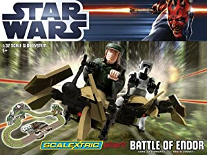 Scalextric Start C1288 Star Wars Battle of Endor 1:32 Scale Race Set