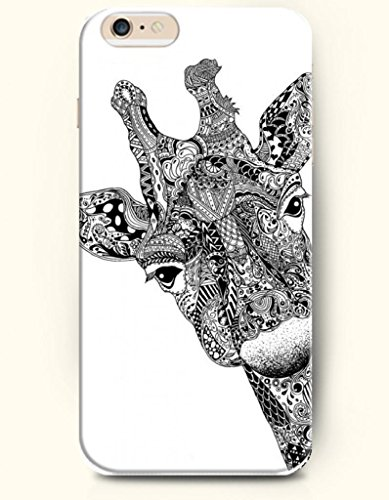 Oofit Apple Iphone 6 Case 4.7 Inches - Fashion Giraffe front-631806