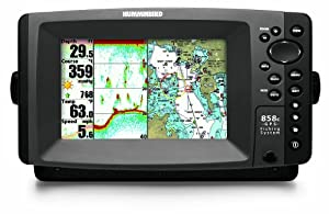 Humminbird 858c Combo 7-Inch Waterproof Marine GPS and Chartplotter with Sounder by Humminbird
