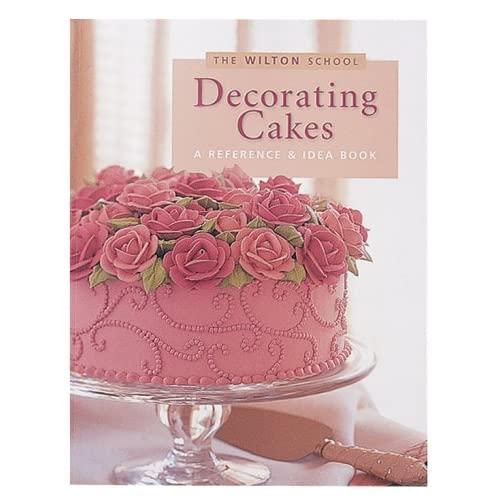 Cake Decorating Kit With Book : Amazon.com: Wilton Decorating Cakes Book: Wilton Cake ...