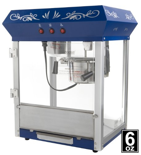 Blue Popcorn Machine