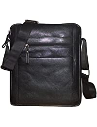 Style98 100% Genuine Leather Crossbody Sling Bag||Messenger Bag||Handbag||Hard Disk Bag||Neck Pouch For Men,Women... - B01N6SH04A