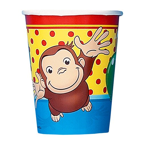 Curious George Hot / Cold Paper Cups