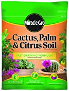 Miracle-Gro 0062581-298 Cactus, Palm, & Citrus Soil - 8 Quart