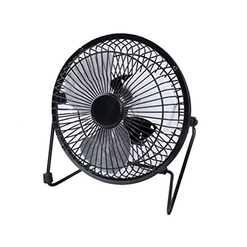 Mini Fan, DTFDTW 6-Inch Clip-On Fan Small Size USB Table Desk Personal Fan,Ideal For The Home, Office, Dorm, & More - Black (6 Table Fan compare prices)