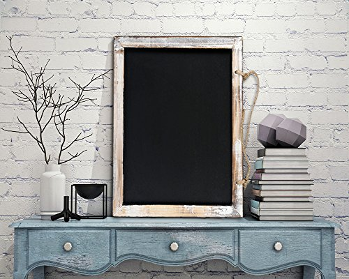 Cade Vintage Framed Kitchen Chalkboard - Decorative Chalk Board for Rustic Wedding Signs, Kitchen Pantry & Wall Decor (3packs, 9.5*12in) 5