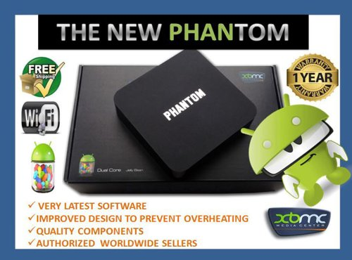 PHANTOM G-BOX MX3 Android 4.2 Jelly Bean Dual Core XBMC Streaming Mini HTPC TV Box Player Black Friday & Cyber Monday 2014