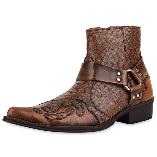 herren schuhe boots braun 42. Black Bedroom Furniture Sets. Home Design Ideas