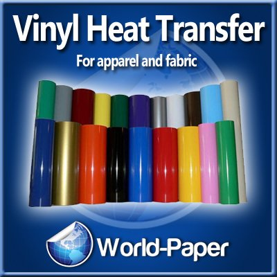 "Cad-Cut Vinyl Heat Transfer Material For Apparel 20""X15 Yards (Black) front-955321"