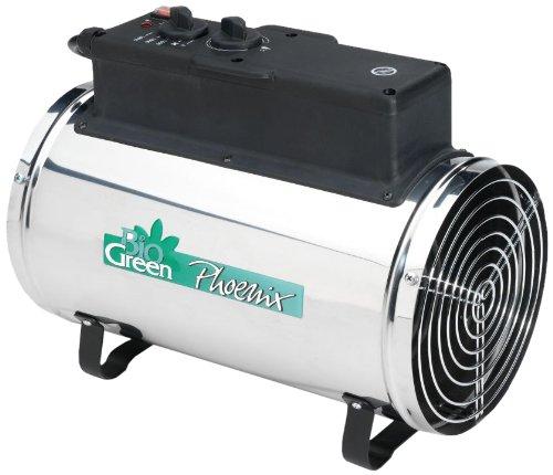 Biogreen PHX 2.8/GB Phoenix Electric Fan Heater 1.0/ 1.8 /2.8KW