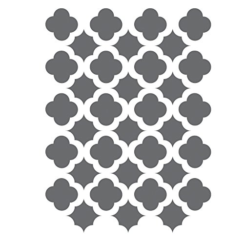 J BOUTIQUE STENCILS Moroccan Trellis Tile Stencils Template -small scale- For Crafting DIY decor
